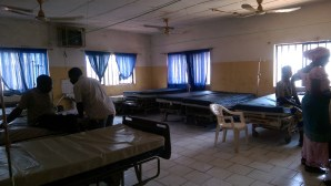 The dark admissions ward, Abaji Township Center PHC